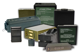Military batteries and chargers