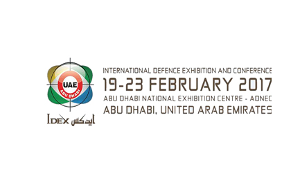 2017 IDEX ABU DHABI Defence Exhibition Invitation from 2/19-2/23