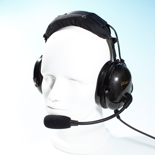 Helicopter passive noise-cancelling headset