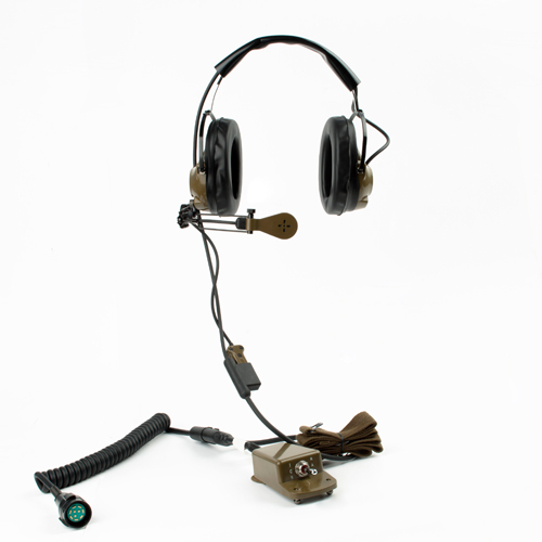 H-161F/GR military tactical headset