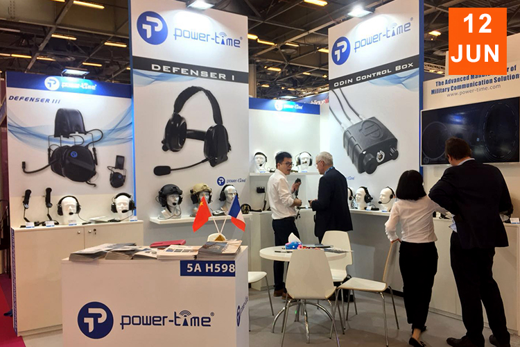 Power-Time succeed attending EUROSATORY 2018