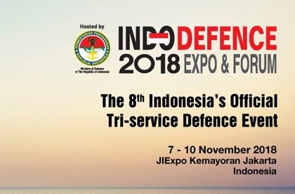 2018 INDO Defence in Jakarta,Indonesia HallB BP030