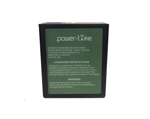 Ni Mh Rechargeable Battery Power Time